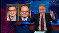 Jon Stewart Rips Former White House Press Sec. Robert Gibbs Drones