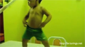 Talented Toddler Dances the Samba