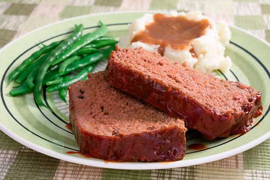 April Fool's Day in the Kitchen: Hint, It's Not What You Think-Meatloaf & Mashed Potatoes