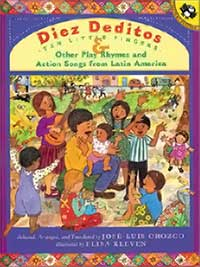 Celebrate Music in Our Schools Month with 5 Books Children Can Dance To!-Diez Deditos