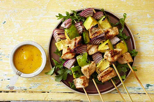 Grilled Chicken Mini Brochettes-MainPhoto