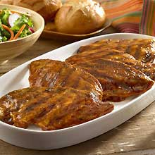 GOYA-Grilled Chicken with Mango Barbeque Sauce