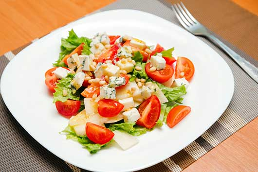 Spring Salad with Pears, Candied Walnuts & Gorgonzola-MainPhoto