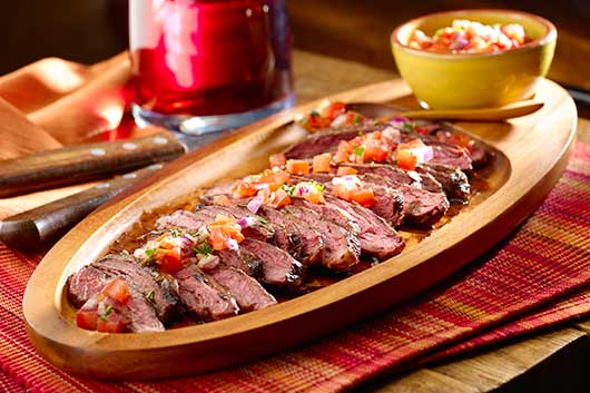 Recipes from the First Lady's Lets Move! Iniative-South American Steak Supper