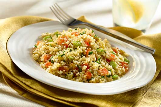 Recipes from the First Lady's Lets Move! Iniative-Quinoa Salad