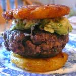 Guacamole Burger Sliders with Tostones-MainPhoto