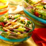 Healthy Eating: Chicken Taco Salad