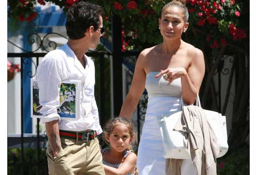 JLO & Marc Anthony, Great Coparents-MainPhoto