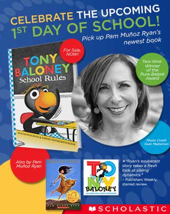 Pam Muñoz-Ryan's New Book Helps Kids Embrace the First Day of School