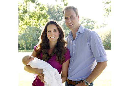 CelebScoop-Royal Baby is in the Spotlight!-MainPhoto