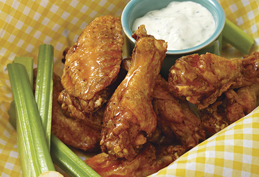 Buffalo Wings with Ranch Dressing-MainPhoto