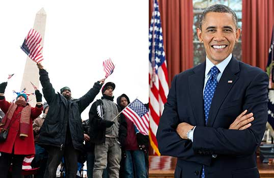 2008 Barack Obama Elected First African American President-MainPhoto