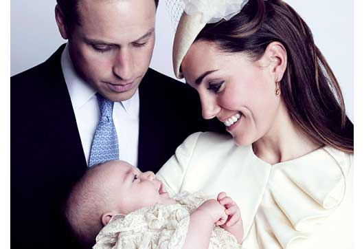 CelebScoop-Prince George's Latest Pictures Released by the Palace-MainPhoto
