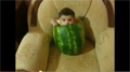 It's a Baby in a Watermelon