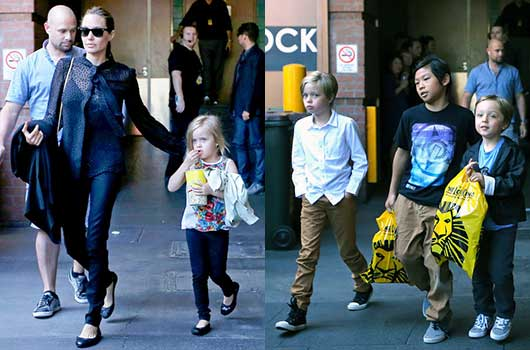CelebScoop-Angelina Jolie Takes her Kids to See The Lion King-MainPhoto