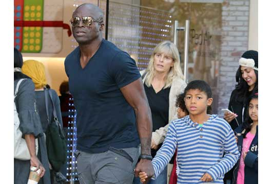Seal, Heidi Klum's Ex Spends Daddy Time With His Kids-MainPhoto