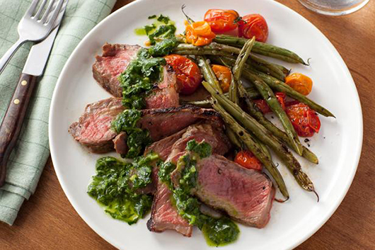 Grilled Steak & Chimichurri Sauce for Valentine's Day-MainPhoto