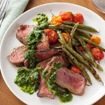 Grilled Steak & Chimichurri Sauce for Valentine's Day-SliderPhoto