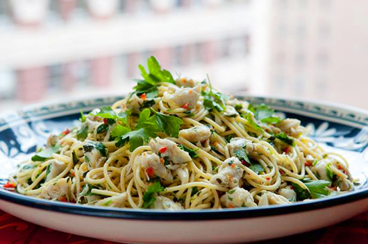 Healthy Pasta with Spicy Crab for Valentine's Day-MainPhoto