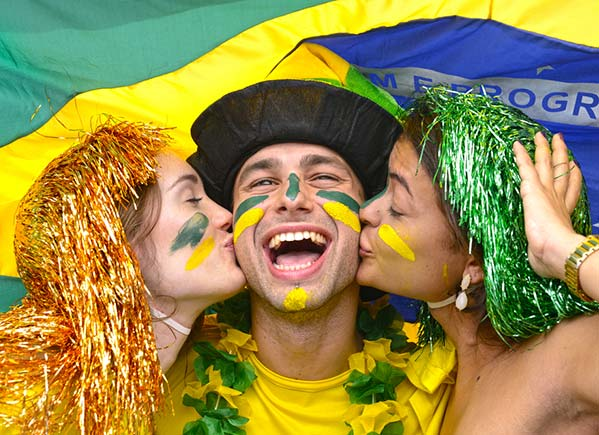 Brazil is Happiest Place on Earth -SliderPhoto