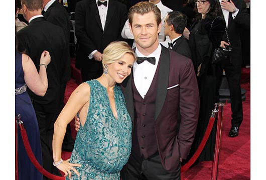 Elsa Pataky and Chris Hemsworth at the Oscars-MainPhoto