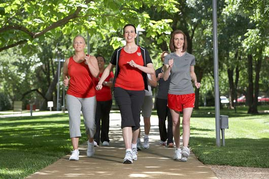 Lace Up Your Shoes for AHA's National Walking Day-MainPhoto