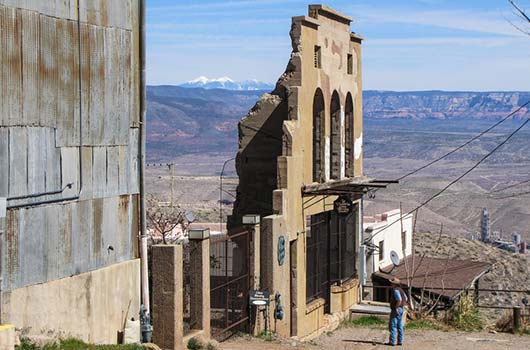 famous ghost towns in arizona