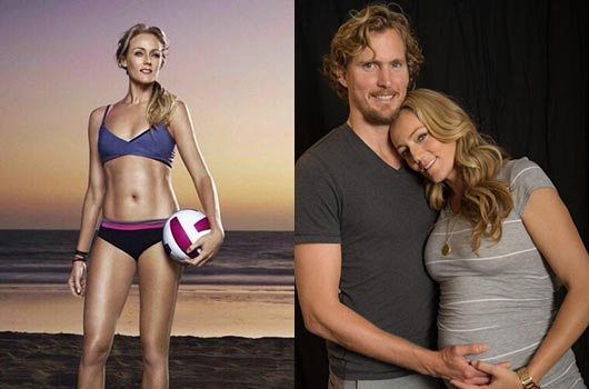 Olympic Beach Volleyball Medalist Jen Kessy Expecting First Baby-MainPhoto