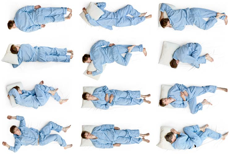 Image result for sleeping positions