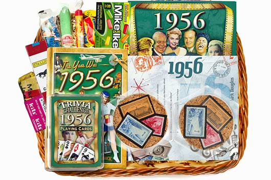 The Golden Age 14 Awesome Gift Ideas For 60th Anniversary Basket